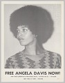 View Poster advocating for Angela Davis digital asset number 0