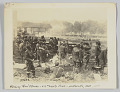"""View <I>Watching """"Hun"""" Planes - 317th Supply Train - Belleville, Oct 1918</I> digital asset number 0"""