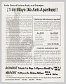 View Flier advertising rally to make May 1st Anti-Apartheid Day digital asset number 1
