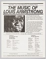 View Flyer advertising a concert featuring the New York Jazz Repertory Company digital asset number 0