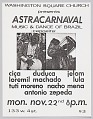View Flyer advertising Astracarnaval digital asset number 0