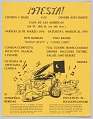 View Flyer advertising a dinner and dance digital asset number 0
