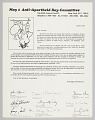 View Letter requesting support for the Anti-Apartheid Day rally digital asset number 0