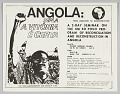 View Flyer advertising an event entitled Angola: From Liberation to Reconstruction digital asset number 0