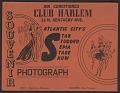 View Gelatin silver print from Club Harlem digital asset number 1