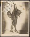 "View Gelatin silver print of Rosita ""Chicken"" Lockhart with autograph digital asset number 0"