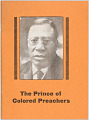 View <I>The Prince of Colored Preachers: The Remarkable Story of Charles Albert Tindley of Philadelphia, Pennsylvania</I> digital asset number 0