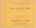 View <I>Testimonial Banquet Honoring Reverend Robert Moses Williams</I> digital asset number 0