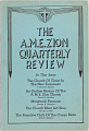 View <I>The A.M.E. Zion Quarterly Review: Volume LV, No. 3</I> digital asset number 0