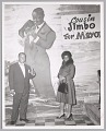 View <I>Mr. & Mrs. Louis Armstrong pose in front of his Bop City mural</I> digital asset number 0