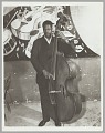 View <I>Unknown bass player, c. mid 1950s</I> digital asset number 0