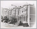 View <I>Row of victorian houses in the western addition of San Francisco, c. late 1960's</I> digital asset number 0