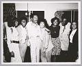 View <I>Mary Wilson, Dee Dee Warwick, Billy Eckstine, Lena Horne, Dionne Warwick, radio DJ Detroit Benson, unknown girl singer</I> digital asset number 0