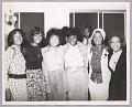 View <I>Mary Wilson, Dionne Warwick, Lena Home, DeeDee Warwick, radio DJ Detroit Benson, unknown backup singers, 1973</I> digital asset number 0