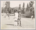 View <I>Father and daughter on the links, Northern California, c. 1970s</I> digital asset number 0
