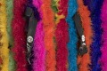 View Rainbow feather boa and shoulder pads cape worn by André 3000 digital asset number 3