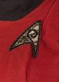 View Red Starfleet uniform worn by Nichelle Nichols as Lt. Uhura on Star Trek digital asset number 2