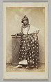 View Photograph of unidentified woman wearing French Antillean dress digital asset number 0