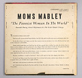 "View <I>""The Funniest Woman in the World:"" Moms Mabley Onstage</I> digital asset number 3"