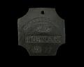 View Charleston slave badge from 1811 for Porter No.27 digital asset number 0