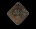 View Charleston slave badge from 1812 for Fisher No. 103 digital asset number 1