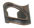 View Modernist copper cuff bracelet by Art Smith digital asset number 0