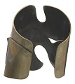 "View ""Three Hole"" brass cuff by Art Smith digital asset number 2"