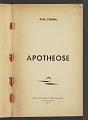 View <I>Apotheose</I> digital asset number 2