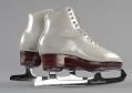 View Pair of white figure skates worn by Debi Thomas digital asset number 2