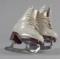 View Pair of white figure skates worn by Debi Thomas digital asset number 3