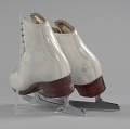 View Pair of white figure skates worn by Debi Thomas digital asset number 4