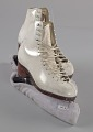 View Pair of white figure skates worn by Debi Thomas digital asset number 6