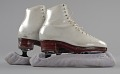 View Pair of white figure skates worn by Debi Thomas digital asset number 7