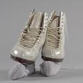 View Pair of white figure skates worn by Debi Thomas digital asset number 8