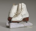 View Pair of white figure skates worn by Debi Thomas digital asset number 11
