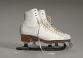 View Pair of white figure skates worn by Debi Thomas digital asset number 0