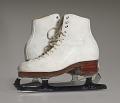 View Pair of white figure skates worn by Debi Thomas digital asset number 13