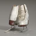 View Pair of white figure skates worn by Debi Thomas digital asset number 14