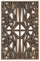 View Corona panel designed for NMAAHC (Type E: 85% opacity) digital asset number 0