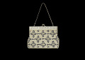 View Silver handbag with beadwork decoration from Mae's Millinery Shop digital asset number 1