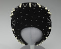 View Black velvet fascinator with beaded decoration from Mae's Millinery Shop digital asset number 6