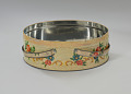 View Floral print tin containing feathers and faux flowers from Mae's Millinery Shop digital asset number 3