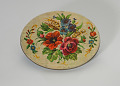 View Floral print tin containing feathers and faux flowers from Mae's Millinery Shop digital asset number 8