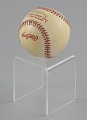 View Baseball from the 1992 World Series autographed by Joe Carter digital asset number 6