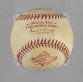 View Baseball from the 1992 World Series autographed by Joe Carter digital asset number 7