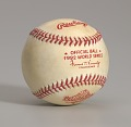 View Baseball from the 1992 World Series autographed by Joe Carter digital asset number 9