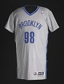 View Basketball jersey for Brooklyn Nets worn by Jason Collins, signed by teammates digital asset number 0