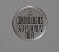 View Pin back button from Commodores 1978 Platinum Tour digital asset number 0