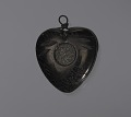 View Anthracite coal heart-shaped pendant attributed to C. Edgar Patience digital asset number 0