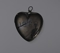 View Anthracite coal heart-shaped pendant attributed to C. Edgar Patience digital asset number 1